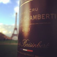 - Would you like to drink our Charmes-Chambertin Grand Cru in front of the Eiffel Tower ? -