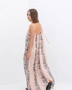 ZARA - NEW THIS WEEK - PRINTED MAXI DRESS