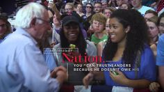Endorsed by The Nation | BERNIE SANDERS | YouTube - 0:30