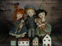 Dolls which will participate in the International Doll and Teddy Show exhibition June 23th - 24th 2017 Asheville, NC USA. #kardenchiki_art_doĺls #kardenchiki #artdoll  https://www.facebook.com/kardenchiki/