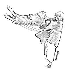 Anime Couples Manga, Manga Anime, Anime Demon, Drawing Poses, Studio Ghibli, Chibi, Art Drawings, Fan Art, Babies