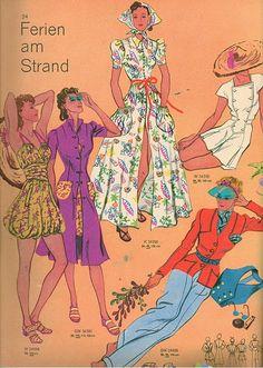 1938 cataqlog of vintage beachwear ~ 1930s fashion