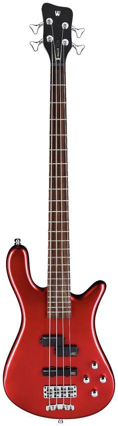 Warwick Rockbass Streamer LX 4-String Metallic Red