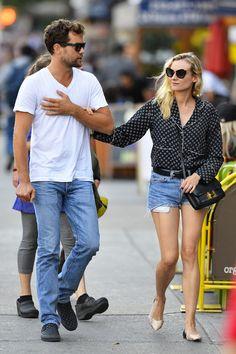 Diane Kruger Photos - Diane Kruger and Joshua Jackson Out in NYC - Zimbio