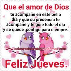 Nice Day, Happy Thursday, God Is Love