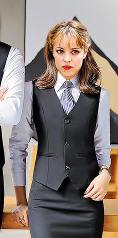 Women Ties, Suits For Women, Satin Shirt, Rachel Mcadams, Collar Blouse, Pretty Woman, Business Women, Preppy, Peplum Dress