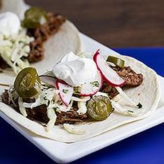 slow cooker shredded beef tacos more cooker recipes slow cooker tacos ...