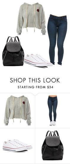 """""""Untitled"""" by folieapanic on Polyvore featuring Sans Souci, Converse and Witchery"""