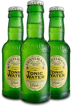 Fentlmaimans Tonic Water > The world's first botanically brewed tonic water is made with a blend of herbal infusions and lemongrass extract which creates a refreshing and unique tonic water. Tonic Water, Gin And Tonic, Fentimans, Gins Of The World, Best Gin, Gin Bar, Aromatic Herbs, Herbal Extracts, Cocktail Drinks