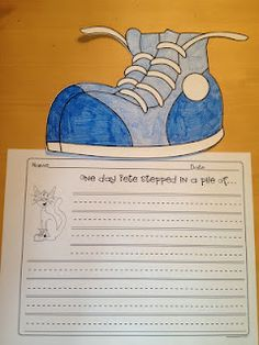 Pete The Cat- I love my white shoes-Freebie!!   From Lesson Plan Diva!!!