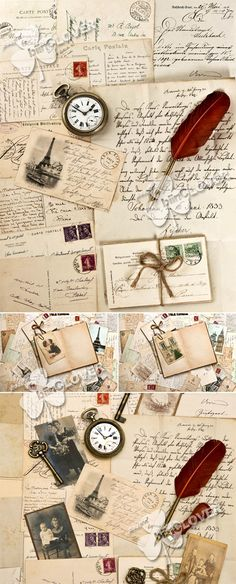 Romantic vintage background 0312