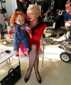 Jennifer Tilly - Bride of Chucky Chucky Movies, Chucky Horror Movie, Scary Movies, Horror Movies, Ghost Movies, Jennifer Tilley, Tiffany Bride Of Chucky, Childs Play Chucky, Evil Dead
