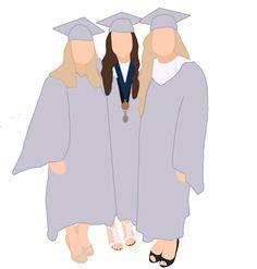 Graduation Picture Poses, Graduation Pictures, Iphone Wallpaper Quotes Love, Cute Wallpapers, Friends Illustration, Illustration Art, Nurse Drawing, Nurse Art, Best Friend Pictures