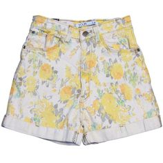Petite Floral Pants - WOMEN Youreyeslie Online store> Shop the... ($27) ❤ liked on Polyvore featuring shorts, bottoms, pants, floral, flower print shorts, floral printed shorts, petite shorts, floral shorts and floral print shorts