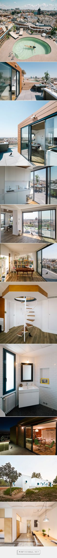 i! arquitectura tops madrid apartment renovation with rooftop pool - created via https://pinthemall.net