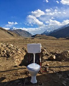Photo by- @dheerajpaul_india  One of the best view #toilet ever at the famous Chandra Taal Lake also known as Moon Lake situated at 4300 metres above sea level Spiti Himachal Pradesh Copyright DHEERAJ PAUL  #indiatravelgram  #TheWeekOnInstagram #dslrofficial #instapic #clickindiaclick  #desi_diaries #everydayindia #indiaclicks #travelgram #chandrataal #himachal #spiti #picoftheday #travelgram #photooftheday #instalove #indiaphotoproject  #instacanvasind #yourshot_india #natgeotravel…