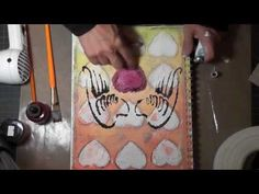 I have used this tape on a journal page and I love working with it and the texture is awesome.  Art Journal Friday Tutorial June 15