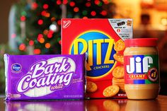 Candy Dipped Peanut Butter Ritz Cookies