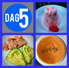 Dag 5 28 Dae Dieet, Gluten Free Recipes, Diet Recipes, Dieet Plan, 28 Days, Diet Meals, Health Eating, Week Diet, Afrikaans