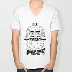 dead men tell no tale V-neck T-shirt