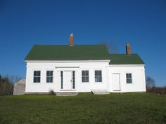 reminds me a little of the school house that my Great Grandmother taught in and my Grandmother later lived in