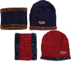 1ccb20bb756 Ababalaya Women s Winter Warm Fleece Knit Beanie Neck Scarf Windproof Face  Mask Sets Review. Karine Schlicher · Skullies and Beanies