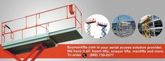 Industrial Maintenance Platforms - http://www.buymanlifts.com/news/industrial-maintenance-platforms/
