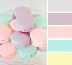 Soothing pastel colors for bedrooms, powder rooms, nurseries, or summer homes. Pretty colors for your home. Color Schemes Colour Palettes, Pastel Colour Palette, Colour Pallette, Color Palate, Pastel Colors, Color Trends, Color Combos, Colours, Aesthetic Colors