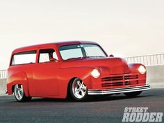 1949 Plymouh Two Door Wagon