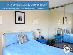 What #colors make a room look bigger via Live Colorful