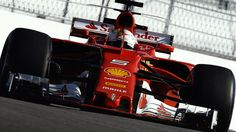 Ferrari go fastest in Russia practice as many struggle for grip