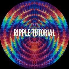 Tie Dye Tutorial, Tie Dye Techniques, How To Tie Dye, Tie Dye Shirts, Hippie Life, My Signature, Saturated Color, Tye Dye, Fabric Art