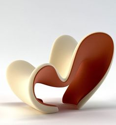 The M Lounge Chair by Velichko is Sculptural and Contemporary #design trendhunter.com