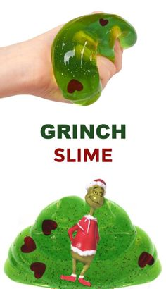 Bring a cherished Christmas movie to life with this easy to make Grinch slime for kids. Sensory Activities Toddlers, Educational Activities For Kids, Craft Activities For Kids, Infant Activities, Projects For Kids, Learning Activities, Preschool Christmas, Christmas Activities, Kids Christmas
