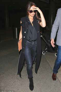 Victoria Beckham LAX Airport March 26 2015