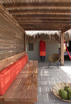 A Secluded Beach Hut Village on Mexicos Coast in interior design architecture Category