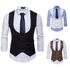 Mens Suit Vest, Men's Waistcoat, Mens Suits, Indian Men Fashion, Mens Fashion Suits, Men's Fashion, Fashion Guide, Double Breasted Waistcoat, Gilet Costume