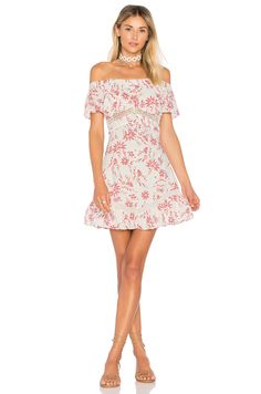 ale by alessandra Rita Mini Dress in Poppy Floral