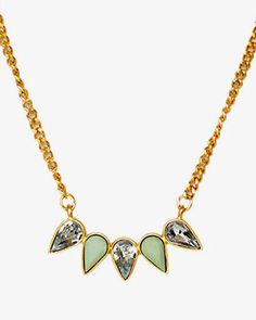 The Mortimer Mint Necklace