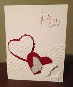 Valentines Day Stampin' Up Card :)