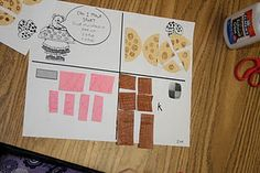 Krazy for Kindergarten Goes to December Math Stations Math Classroom, Kindergarten Math, Classroom Ideas, Teaching Tools, Teaching Math, Teaching Ideas, Math Multiplication, Maths, Fraction Activities