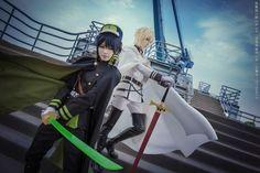 ichinosehikaru(一之濑光) Yuichiro Hyakuya and Mikaela Hyakuya (Seraph of the End) Cosplay Photo - WorldCosplay