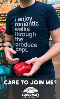 There are a lot of fish in the sea. Vegans, vegetarians, and omnivorous vegetable fanatics need all the help they can get to narrow things down in their search for True Love. Advertise your veggie love in style! Click to purchase; free U.S. shipping.