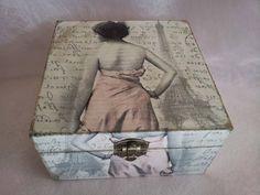 Caja vintage artesana Modelo 1