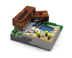 Lego Mocs Micro ~ Villa Midgård LDD | by O0ger