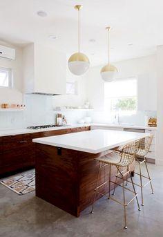 Smart retro mid century kitchen ideas (29)