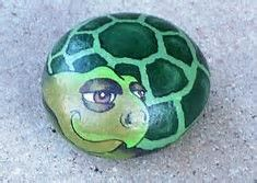 Image result for Turtle Painted Rocks Tutorial