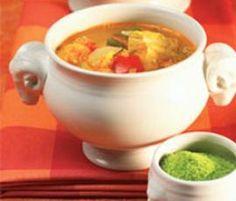 Rezept Italienische Gemüsesuppe von Thermomix Rezeptentwicklung - Rezept der Kategorie Suppen