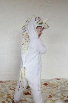 Einhorn-Kostüm als Jumper nähen - sew unicorn costume as jumper - DIY for Karneval