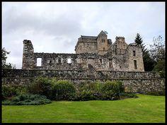 Castle Campbell, Clackmannanshire, Scotland.